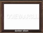Lijstje donker eiken 15 x 20 cm