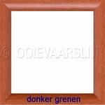 Lijstje donker grenen 15 x 15 cm